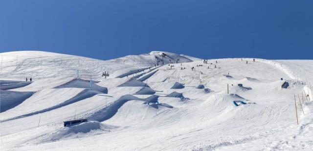 Snowpark des Sybelles