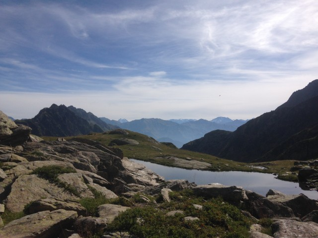 Lakes and summits